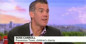 Prevention Town talk about underage gambling on BBC Breakfast